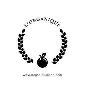 L'ORGANIQUE logo white